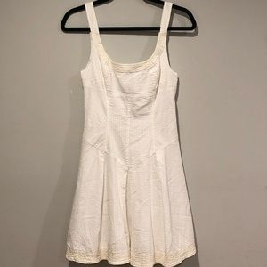 Free People Ivory Sun Dress